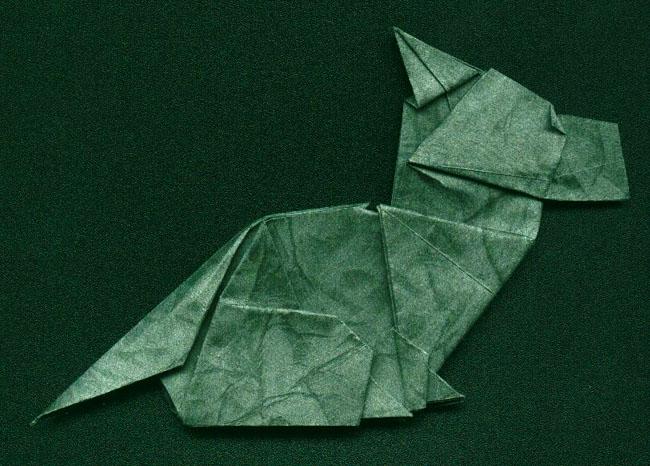 Origami Talking Dog - YouTube | 466x650